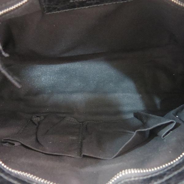 Balenciaga(발렌시아가) 431621 블랙 레더 클래식 시티 S사이즈 모터백 2WAY [대구동성로점] 이미지5 - 고이비토 중고명품