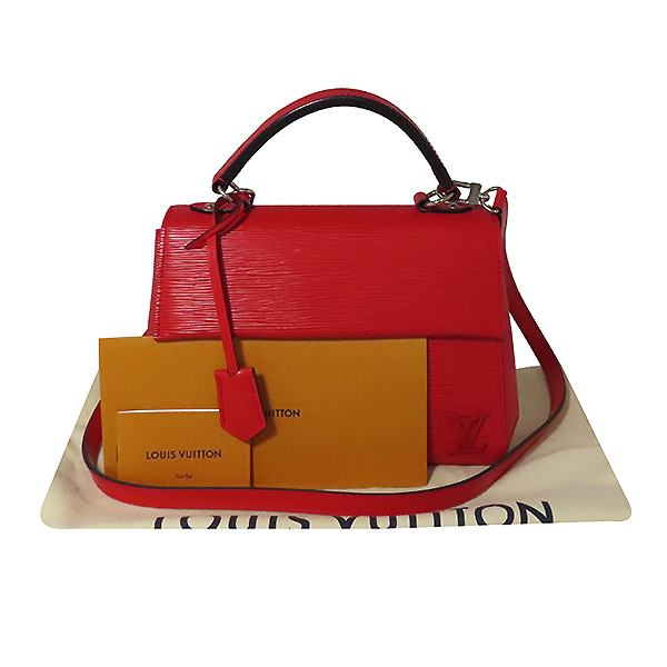 Louis Vuitton(루이비통) M41337 레드 에삐 레더 클루니 BB 토트백 + 숄더스트랩 2WAY [대전본점]