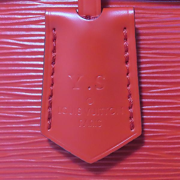 Louis Vuitton(루이비통) M41337 레드 에삐 레더 클루니 BB 토트백 + 숄더스트랩 2WAY [대전본점] 이미지6 - 고이비토 중고명품