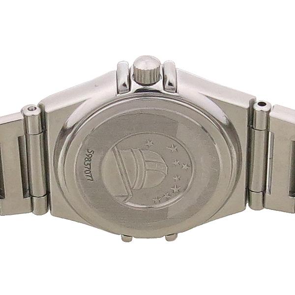Omega(오메가) 1465.71 CONSTELLATION (컨스틸레이션) 베젤 다이아 스틸 쿼츠 여성용 시계 [강남본점] 이미지5 - 고이비토 중고명품