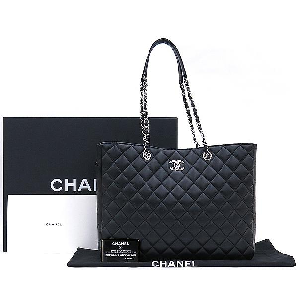 Chanel(샤넬) A91046 19시즌 COCO로고 블랙 램스킨 숄더백 [강남본점]