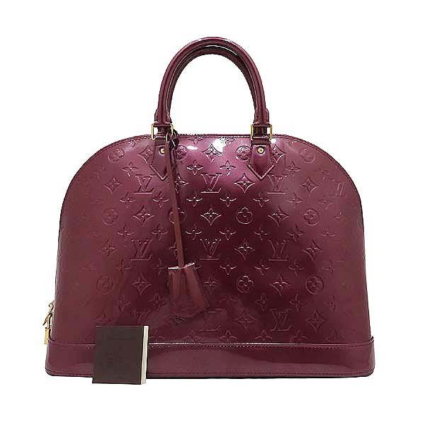 Louis Vuitton(루이비통) M93594 모노그램 베르니 바이올렛 알마 GM 토트백 [인천점]