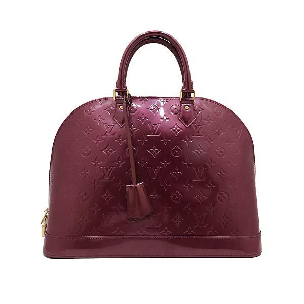 Louis Vuitton(루이비통) M93594 모노그램 베르니 바이올렛 알마 GM 토트백 [인천점] 이미지2 - 고이비토 중고명품