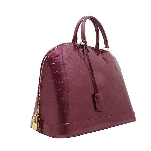Louis Vuitton(루이비통) M93594 모노그램 베르니 바이올렛 알마 GM 토트백 [인천점] 이미지3 - 고이비토 중고명품