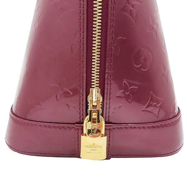 Louis Vuitton(루이비통) M93594 모노그램 베르니 바이올렛 알마 GM 토트백 [인천점] 이미지4 - 고이비토 중고명품