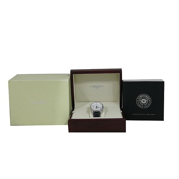 LONGINES(론진) L2 673 4 78 마스터 콜렉션 문페이즈 오토매틱 가죽 밴드 남성용 시계 [대구동성로점]