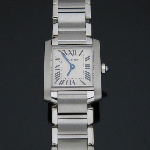 Cartier(까르띠에) W51008Q3 탱크 프랑세스 S사이즈 쿼츠 스틸 여성용 시계 [대구동성로점]