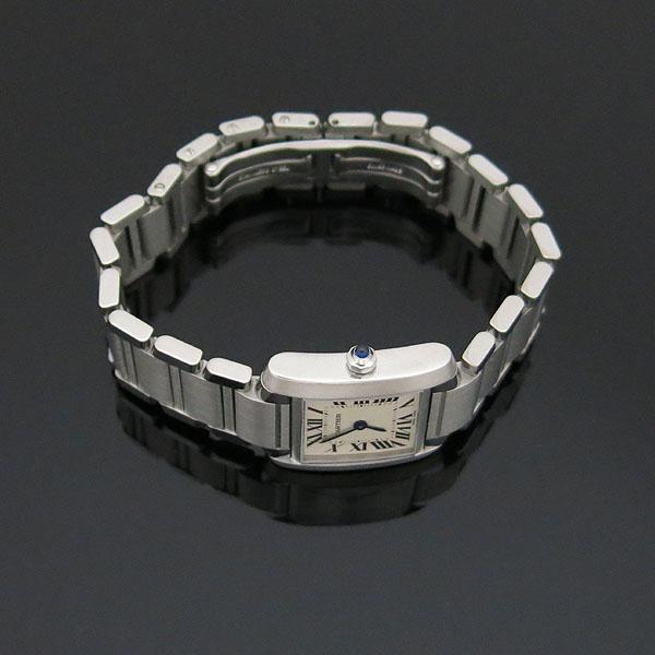 Cartier(까르띠에) W51008Q3 탱크 프랑세스 S사이즈 쿼츠 스틸 여성용 시계 [대구동성로점] 이미지2 - 고이비토 중고명품