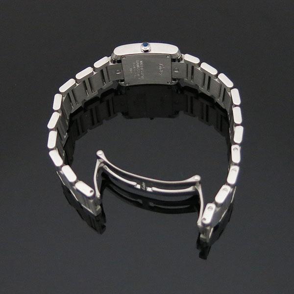 Cartier(까르띠에) W51008Q3 탱크 프랑세스 S사이즈 쿼츠 스틸 여성용 시계 [대구동성로점] 이미지3 - 고이비토 중고명품