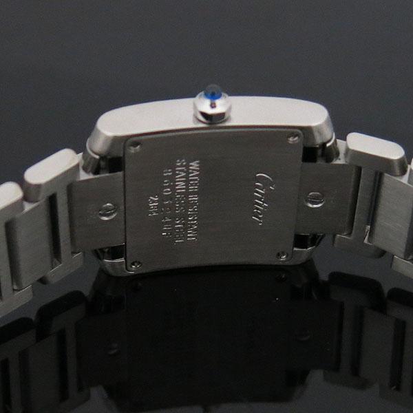 Cartier(까르띠에) W51008Q3 탱크 프랑세스 S사이즈 쿼츠 스틸 여성용 시계 [대구동성로점] 이미지4 - 고이비토 중고명품