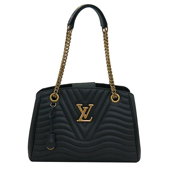 Louis Vuitton(루이비통) M51496 블랙 레더 뉴 웨이브 체인 숄더백 [부산센텀본점] 이미지2 - 고이비토 중고명품