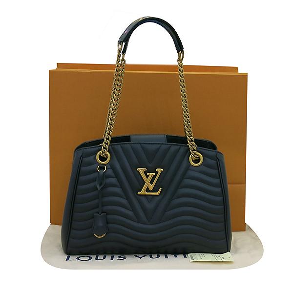 Louis Vuitton(루이비통) M51496 블랙 레더 뉴 웨이브 체인 숄더백 [부산센텀본점]