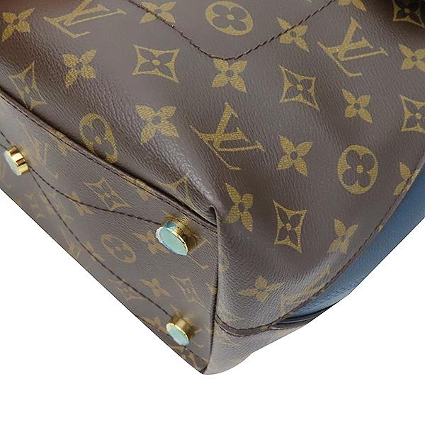 Louis Vuitton(루이비통) N91282 모노그램 캔버스 EX.PY.B (오스트리치,리자드,그로 그랭 레더) 혼방 MAJES(마제스튀) MM 토트백 [부산서면롯데점] 이미지4 - 고이비토 중고명품
