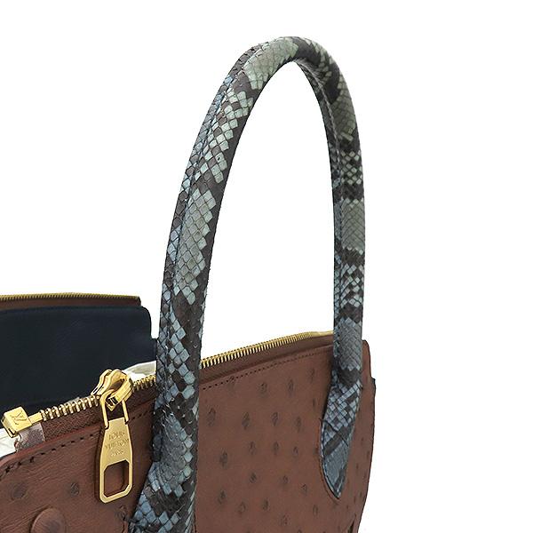 Louis Vuitton(루이비통) N91282 모노그램 캔버스 EX.PY.B (오스트리치,리자드,그로 그랭 레더) 혼방 MAJES(마제스튀) MM 토트백 [부산서면롯데점] 이미지5 - 고이비토 중고명품