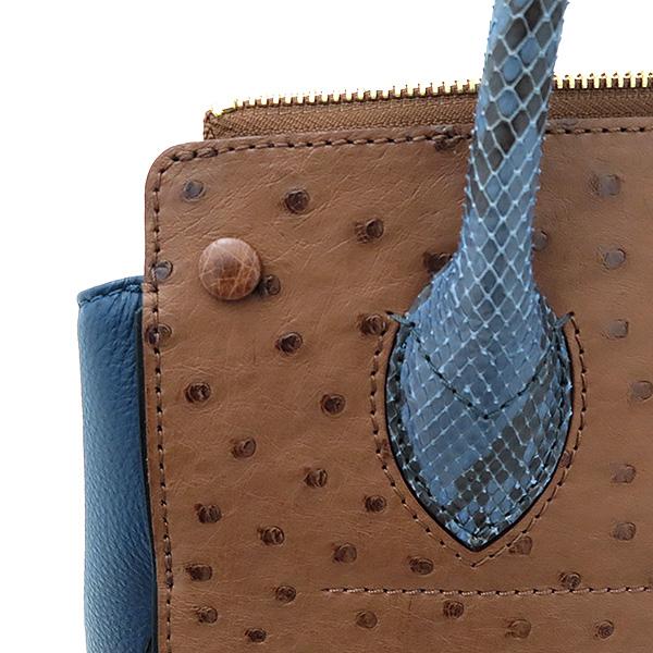 Louis Vuitton(루이비통) N91282 모노그램 캔버스 EX.PY.B (오스트리치,리자드,그로 그랭 레더) 혼방 MAJES(마제스튀) MM 토트백 [부산서면롯데점] 이미지6 - 고이비토 중고명품