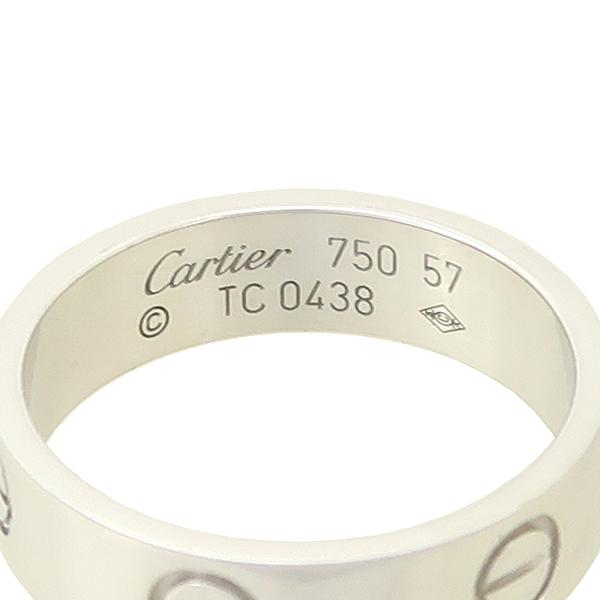 Cartier(까르띠에) B4084759 18K 화이트골드 러브링 반지-17호 [잠실점] 이미지2 - 고이비토 중고명품