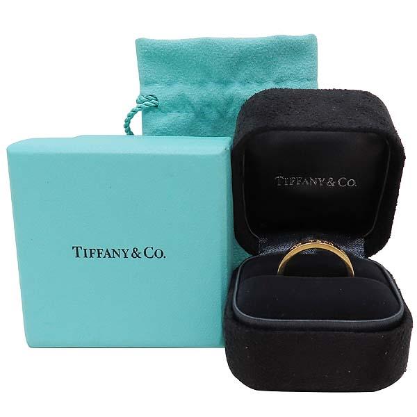 Tiffany(티파니) 18K(750) 옐로우골드 1837 라운드 반지 - 17호 [인천점]