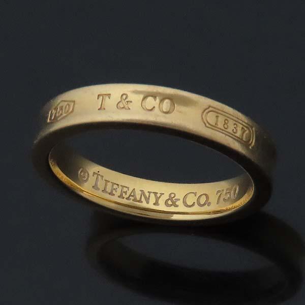 Tiffany(티파니) 18K(750) 옐로우골드 1837 라운드 반지 - 17호 [인천점] 이미지2 - 고이비토 중고명품