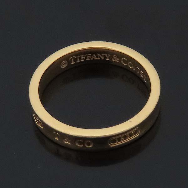 Tiffany(티파니) 18K(750) 옐로우골드 1837 라운드 반지 - 17호 [인천점] 이미지6 - 고이비토 중고명품