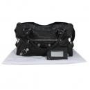 Balenciaga(발렌시아가) 173084 블랙 컬러 레더 자이언트 시티 토트백 + 숄더스트랩 2WAY + 보조거울 [대구반월당본점]