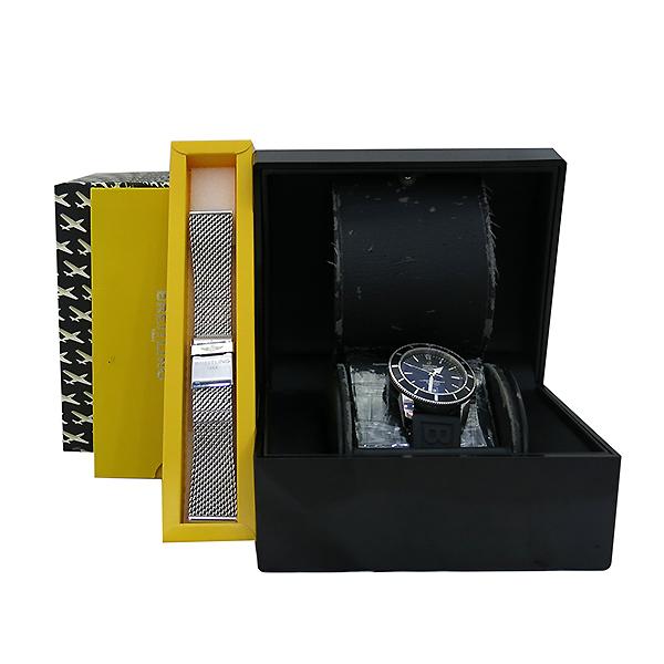BREITLING(브라이틀링) A1732024 SUPEROCEAN(슈퍼오션) 헤리티지 46MM 블랙 다이얼 오토매틱 남성용 러버밴드 시계 [부산센텀본점]