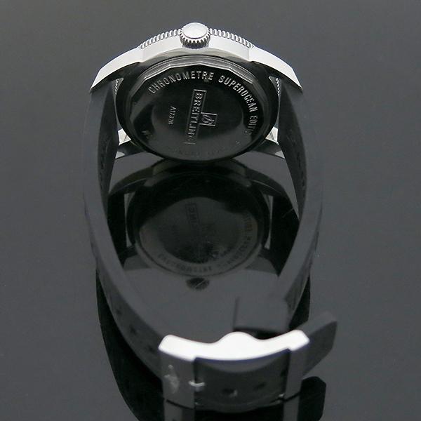 BREITLING(브라이틀링) A1732024 SUPEROCEAN(슈퍼오션) 헤리티지 46MM 블랙 다이얼 오토매틱 남성용 러버밴드 시계 [부산센텀본점] 이미지5 - 고이비토 중고명품