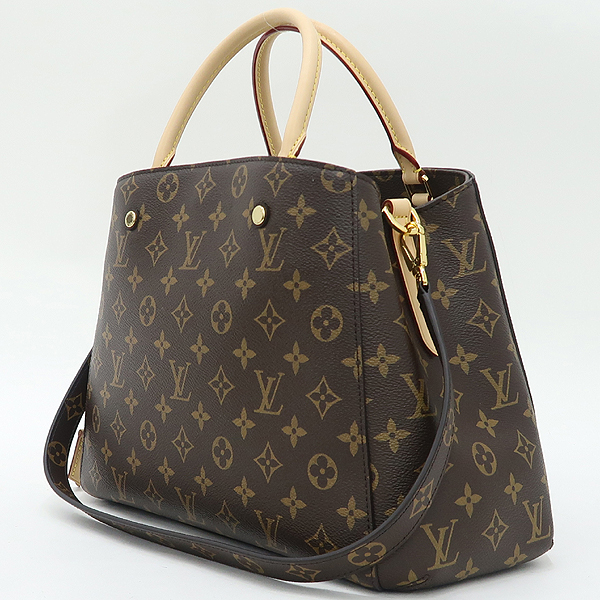 Louis Vuitton(루이비통) M41056 모노그램 캔버스 몽테뉴 MM 토트백+숄더스트랩 2WAY [강남본점] 이미지3 - 고이비토 중고명품