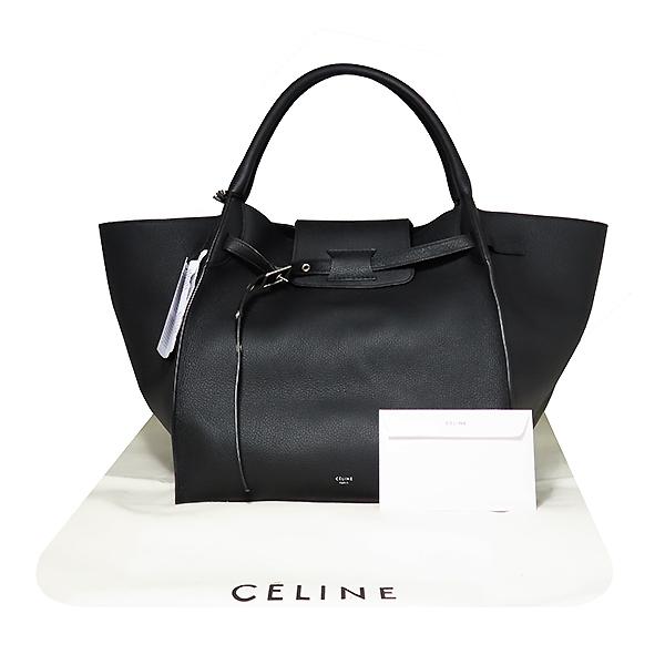 Celine(셀린느) 182863 블랙 컬러 미듐 SAC Big BAG(빅백) 토트백 [대전본점]