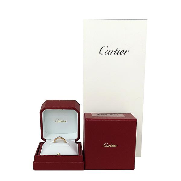 Cartier(까르띠에) N4204055 18K 로즈골드 E컬러 VVS1 0.23ct 1포인트 다이아 솔리테어 미니 러브링 반지 - 15호 [대전본점]