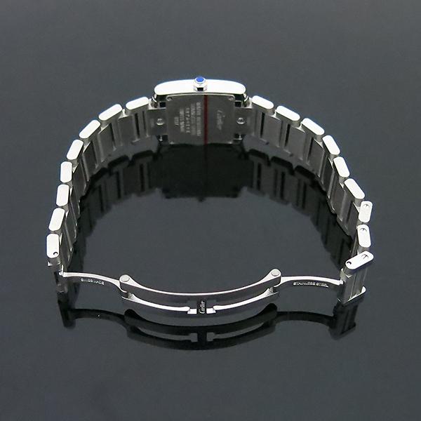 Cartier(까르띠에) W4TA0008 탱크 프랑세스 베젤 다이아 S사이즈 쿼츠 스틸 여성용 시계 [부산센텀본점] 이미지5 - 고이비토 중고명품