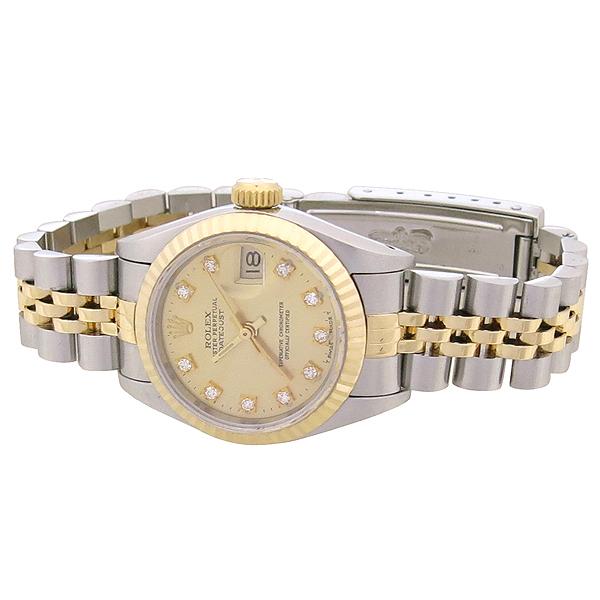 Rolex(로렉스) 69173 18K 콤비 10포인트 다이아 DATE JUST(데이트 저스트) 여성용 시계 [강남본점] 이미지2 - 고이비토 중고명품