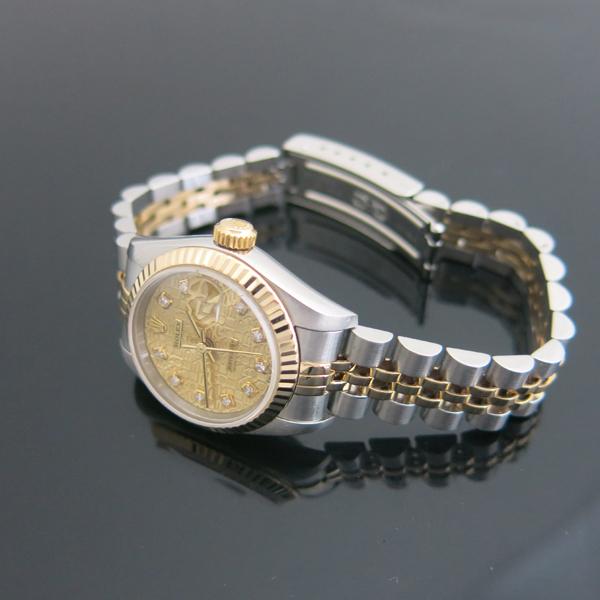 Rolex(로렉스) 69173 18K 콤비 DATE JUST(데이트 저스트) 10포인트 다이아 컴퓨터판 여성용 시계 [동대문점] 이미지2 - 고이비토 중고명품