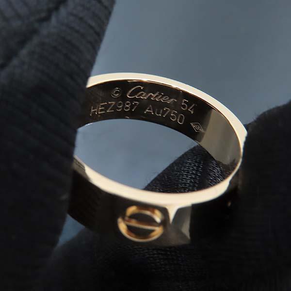 Cartier(까르띠에) B4084654 18K(750) 옐로우골드 러브링 반지 - 14호 [인천점] 이미지5 - 고이비토 중고명품