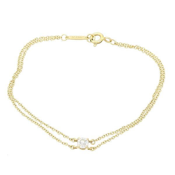 Tiffany(티파니) 18K 핑크골드 솔리테어 1포인트 다이아 팔찌 [잠실점] 이미지2 - 고이비토 중고명품