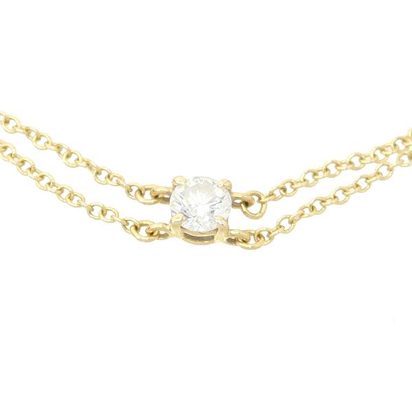 Tiffany(티파니) 18K 핑크골드 솔리테어 1포인트 다이아 팔찌 [잠실점] 이미지3 - 고이비토 중고명품