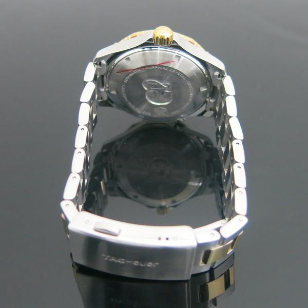 Tag Heuer(태그호이어) WAK2120.BB0835 AQUARACER(아쿠아레이서) 500M 칼리버 5 오토매틱 블루 다이얼 18K 콤비 남성용 시계 [동대문점] 이미지5 - 고이비토 중고명품