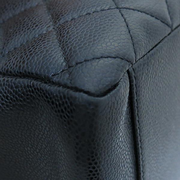 Chanel(샤넬) A50995Y01588 캐비어스킨 블랙 그랜드샤핑 금장 로고 체인 숄더백 [부산센텀본점] 이미지7 - 고이비토 중고명품