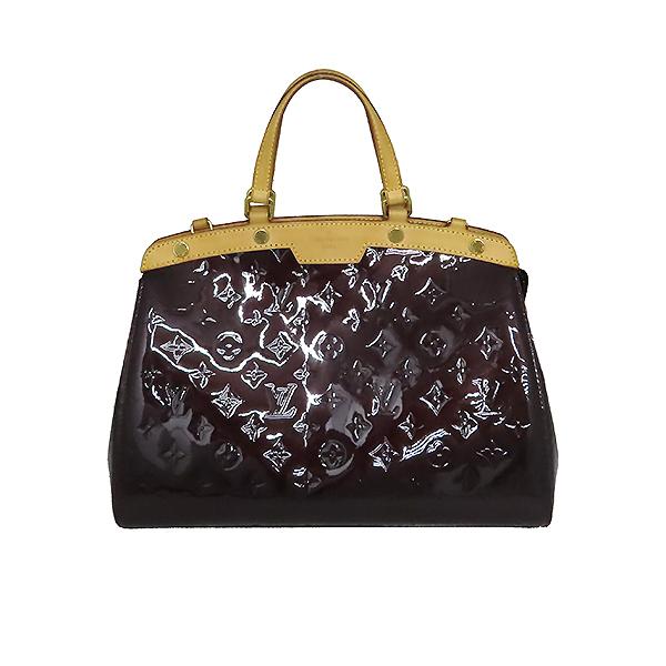 Louis Vuitton(루이비통) M91619 모노그램 베르니 아마랑뜨 브레아 MM 토트백 [대전본점] 이미지2 - 고이비토 중고명품