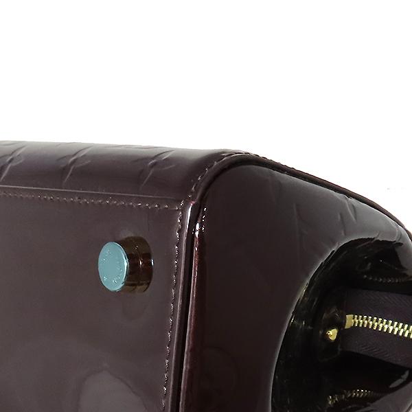 Louis Vuitton(루이비통) M91619 모노그램 베르니 아마랑뜨 브레아 MM 토트백 [대전본점] 이미지5 - 고이비토 중고명품
