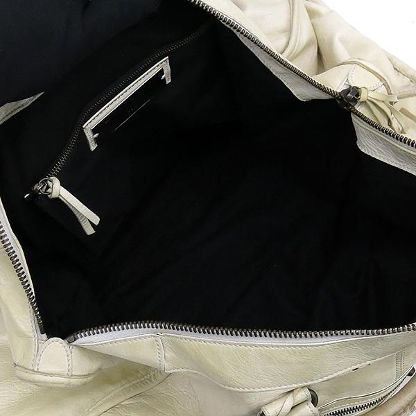 Balenciaga(발렌시아가) 110506 빈티지 아이보리 CLASSIC 클래식 WEEKENDER 위켄더 토트백 + 보조거울 [강남본점] 이미지5 - 고이비토 중고명품