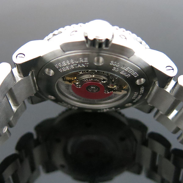 ORIS(오리스) 733 7653 AQUIS(애커스) 오토매틱 시스루백 스틸 밴드 남성용 시계 [대구동성로점] 이미지6 - 고이비토 중고명품