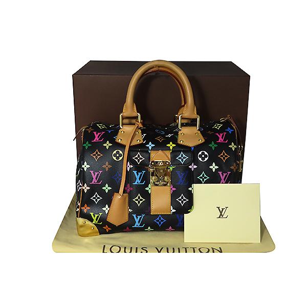 Louis Vuitton(루이비통) M92642 모노그램 멀티컬러 블랙 멀티스피디 30 토트백 [대전본점]