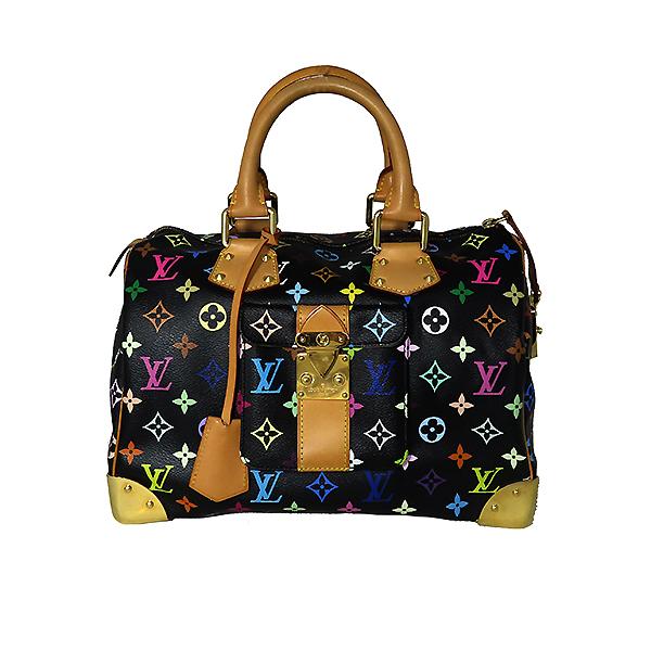 Louis Vuitton(루이비통) M92642 모노그램 멀티컬러 블랙 멀티스피디 30 토트백 [대전본점] 이미지2 - 고이비토 중고명품