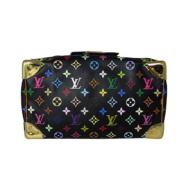 Louis Vuitton(루이비통) M92642 모노그램 멀티컬러 블랙 멀티스피디 30 토트백 [대전본점] 이미지4 - 고이비토 중고명품