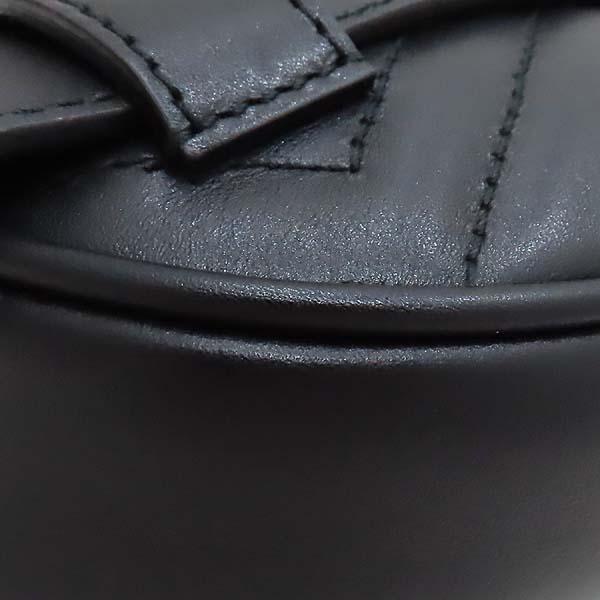 Gucci(구찌) 476434 블랙 레더 마틀라세 마몬트 GG 로고 힙색 벨트백 [인천점] 이미지6 - 고이비토 중고명품