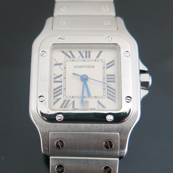 Cartier(까르띠에) W20060D6 산토스 드 까르띠에 갈베 LM사이즈 쿼츠 스틸 남성용시계 [동대문점] 이미지2 - 고이비토 중고명품