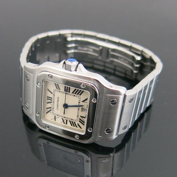 Cartier(까르띠에) W20060D6 산토스 드 까르띠에 갈베 LM사이즈 쿼츠 스틸 남성용시계 [동대문점] 이미지3 - 고이비토 중고명품