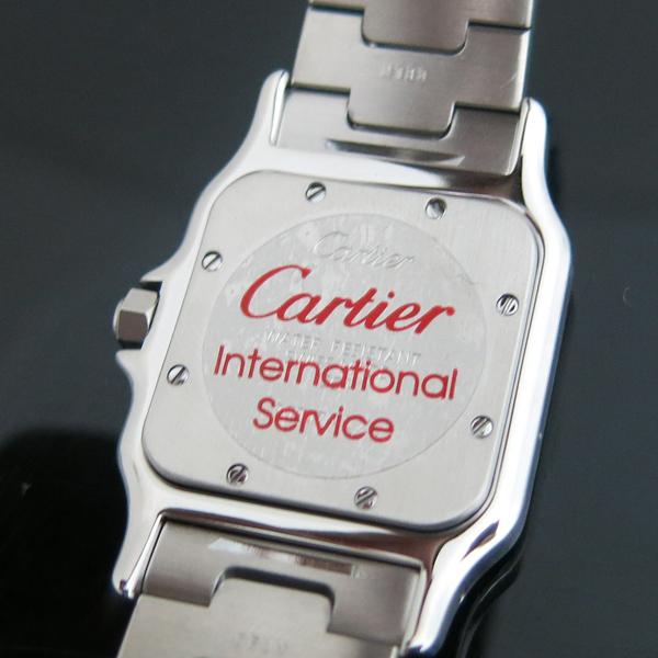 Cartier(까르띠에) W20060D6 산토스 드 까르띠에 갈베 LM사이즈 쿼츠 스틸 남성용시계 [동대문점] 이미지5 - 고이비토 중고명품