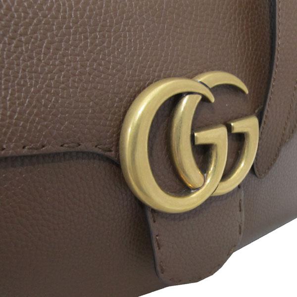 Gucci(구찌) 421890 브라운 레더 GG Marmont(마몬트) 금장 로고 토트백 + 숄더스트랩 2WAY [대구반월당본점] 이미지4 - 고이비토 중고명품
