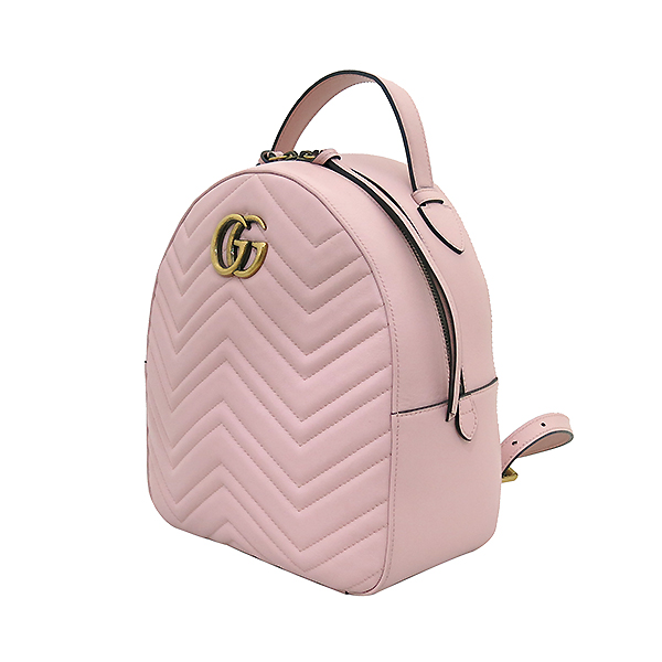 Gucci(구찌) 476671 핑크레더 GG Marmont(마몬트) 마틀라세 백팩 [부산센텀본점] 이미지3 - 고이비토 중고명품